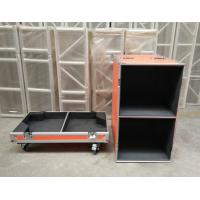 Wholesale Orange Speaker Audio Road Aluminum Tool Cases with 9mm Thickness Fireproof Plywood Board from china suppliers