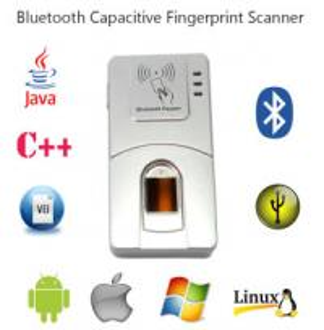 Buy cheap HF7000 USB Handheld C# Bluetooth Android Wireless Biometrics Fingerprint Scanner from wholesalers