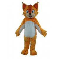Wholesale Adult Tiger halloween cute mascot costume animal Dluxe yellow tiger mascot costume from china suppliers