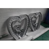 Wholesale Heart Shape Modern LED Carnival Lights  , Christmas Decorative Alphabet Light Letters from china suppliers