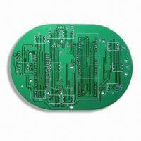 Quality Single-sided Traffic Control System Board with Tin Plating for sale