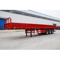 Wholesale tri axle flatbed trailer with grill intruck trailer with jost legs - CIMC from china suppliers