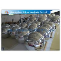 Wholesale Silver Mirror Balloon inflatable Holiday Decorations For Concerts / Clubs from china suppliers