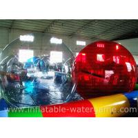 Wholesale 14Kg Red Inflatable Walk On Water Bubble Ball 50 X 40 X 40 CM Packing from china suppliers