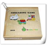 Wholesale Threading Game/wooden Toys from china suppliers