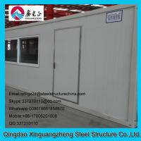 Wholesale 20ft joint flat pack container single door slide window house from china suppliers