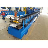 Wholesale Steel Plate roof sheet making machine , Wall Panel Forming Machine With Hydraulic Decoiler from china suppliers