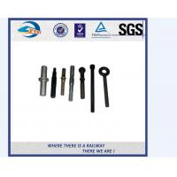 Wholesale ZhongYue Azerbaijan railway project carbon steel rail bolt and nut from china suppliers