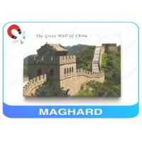 China Tin Picture Fridge Magnet Printing The Grest Wall 79 * 54 * 3.0mm on sale