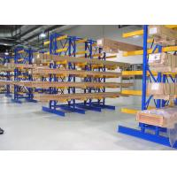 Wholesale New Pattern Cantilever Metal Racks , Heavy Shelves Industrial Cantilever Racks from china suppliers