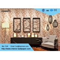 Wholesale Floral Pattern Luxury Non Woven Wallcovering Modern Lounge Wallpaper from china suppliers