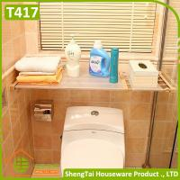 Quality Free Installation Wholesale Home Wardrobe Use Extendable Storage Shelf for sale