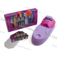 Wholesale Customized Portable Nail Art Printer Black / Yellow With Nail Stamps For Nails Art Design from china suppliers