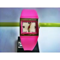 Wholesale 100M Water Resistant Watches , Square Quartz Kids Analog Watches from china suppliers