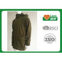 Wholesale Olive Color Waterproof Shooting Jacket 100% Polyester Windbreak Thermal For Men from china suppliers