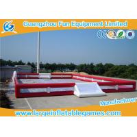 Wholesale Professional Inflatable Football Pitch , Commercial Grade Inflatable Soccer Arena from china suppliers