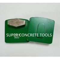 Wholesale Single Hexagon Seg Metal Bond Diamond Tools With Redi Lock For Concrete Polishing from china suppliers