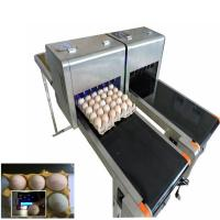 Wholesale Barcode Egg Printer / Continuous Tray Egg Food Inkjet Printer Chinese Made from china suppliers