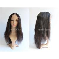 Wholesale Straight Glueless Full Lace Wigs Brazilian Hair No Shedding No Tangle from china suppliers