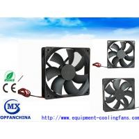 Quality Electronic 12V 24V 48V laptop DC Brushless Fan 120mm X 120mm X 25mm for sale