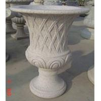 Wholesale Curved garden decoration stone flower pots  from china suppliers