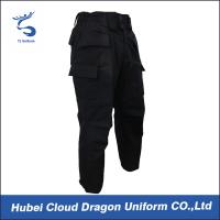 Wholesale Autumn / Winter Ripstop Tactical Combat Pants Black Military Pants For Police from china suppliers