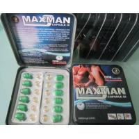 Wholesale Maxman Sexual Enhancement Pill Herbal black storm MMC maxman IV II 2 4 capsules from china suppliers
