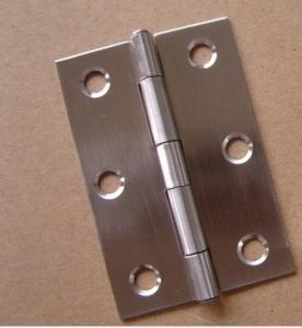 Wholesale Iron Door Window Hardware , Small  Security External Door Hinges For Bedroom from china suppliers