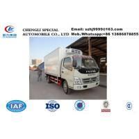 Wholesale HOT SALE! factory sale best price Forland 4*2 RHD 3tons frozen van truck with imported US Thermo King/CARRIER reefer, from china suppliers