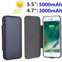 Wholesale Luxury Solar Panel Power Case For iPhone 7 Plus 6s Battery Backup Charging Cover from china suppliers