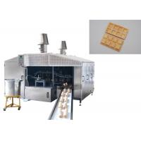 Wholesale Auto Professional Sugar Cone Production Line / Ice Cream Wafer Machine Fast Heating Up Oven Durable from china suppliers