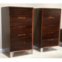 Quality High quality hot sale modern design  vertical storage cabinet with 5 drawers,Popular walnut wooden cabinet for sale
