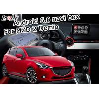 Wholesale car navigation box Android 6.0 for Mazda 2 video interface box with Mazda knob control waze youtube from china suppliers