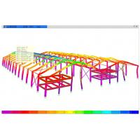 Wholesale 3D Location Structural Engineering Designs With Accurate Component Shape / Size from china suppliers
