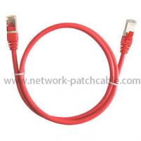 Wholesale 6 Inch Cat5e Patch Cables UTP Copper Pass Fluke Red For Computer from china suppliers