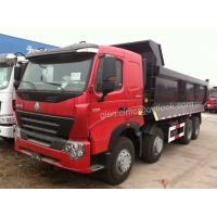 Wholesale HOWO 8*4 Dump Trucks, Tipper Trailers, A7 Dump Trucks, 380HP A7 Tippers from china suppliers
