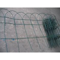 Wholesale Green Galvanized Coated Garden Border Fence With Age Resistance from china suppliers