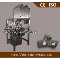 Buy cheap Pyramid Nylon Flower Tea Bag Packing Machine by Ultrasonic Sealing from wholesalers