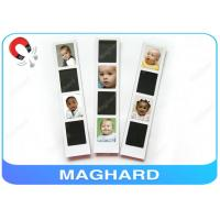 Wholesale Blank Magnetic Photo Frame Collage , Baby Fridge Magnets with Epoxy OEM from china suppliers