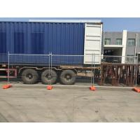Wholesale American market 6 ft *8ft galvanized temporary chain link event fencing with cross brace from china suppliers