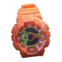 Wholesale Orange G Sport Shock Analog-digital Watches Two Time Zone EL Backlight from china suppliers