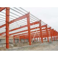Quality Large Span Warehouse Steel Structure Building Corrosion Resistant High Strength Plate for sale