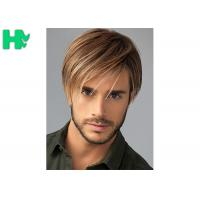 Wholesale Fashion New Arrival  Mens Hair Pieces Wigs With Side Bang For Young Men Use from china suppliers
