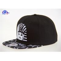 Wholesale Hip hop snapaback Caps / Hats / Embroidery On Front / Sublimation Print Visor from china suppliers