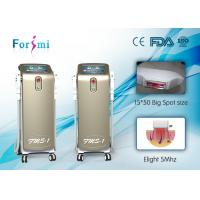 Buy cheap Professional 2 Hand Pieces Stationary Hair Removal Skin Rejuvenation 1mhz Elight Rf Shr Ipl machine from wholesalers