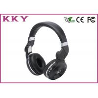 Wholesale Wireless On Ear Headphones , Noise Cancelling Bluetooth Headset 5 Hours Play Time   from china suppliers