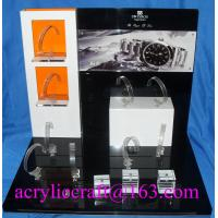 Wholesale Table top acrylic watch display stand for advertising in watch store from china suppliers