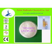 Wholesale Anesthetic Drugs Tetracaine Pharmaceutical Intermediate CAS 94-24-6 from china suppliers