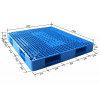 Wholesale Standard Size Stackable Reusable Plastic Pallets Blue Color HDPE Or PP Material from china suppliers