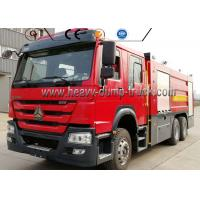 Wholesale 266HP Engine 4600mm Wheel Firefighter Truck Sinotruck 16000 Liter Water Foam from china suppliers